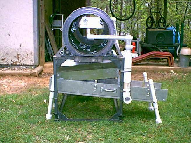 Mini Mining Equipment : Gold equipment mini trommel